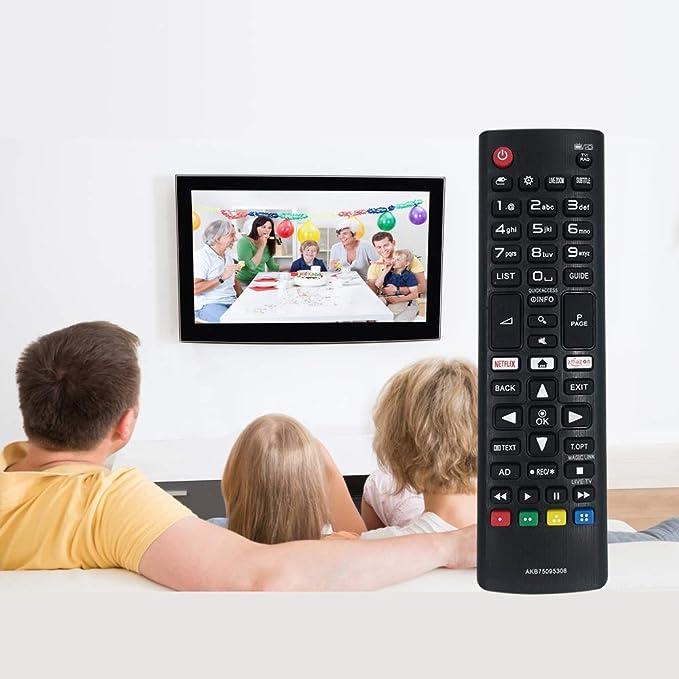 Nuevo mando a distancia de repuesto para LG AKB75095308 para ...