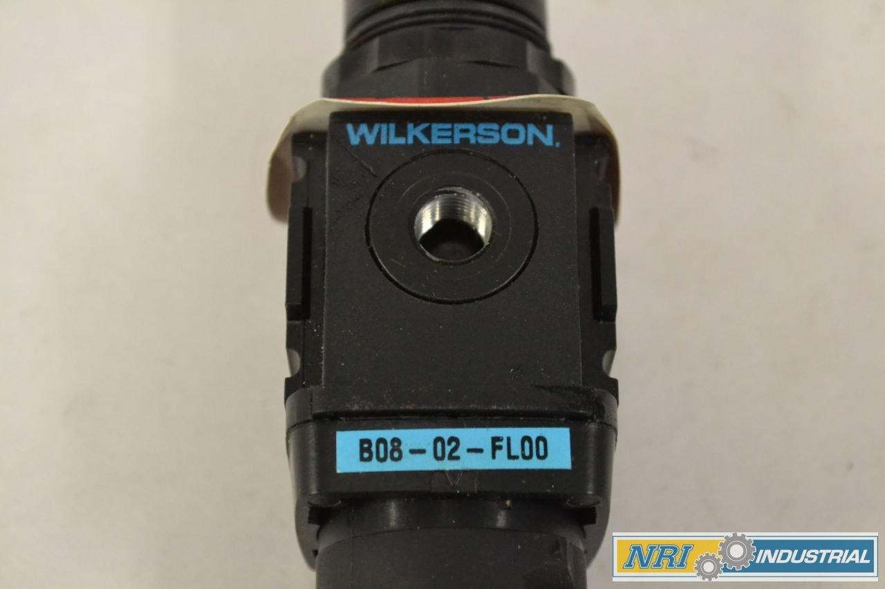 NEW WILKERSON B08-02-FL00 150PSI 1//4 IN NPT PNEUMATIC FILTER-REGULATOR B318808
