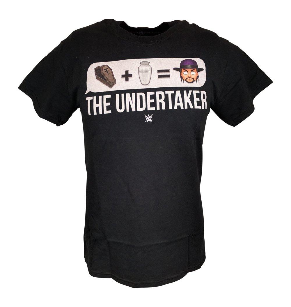 Undertaker Deadman Emoji Logo Mens WWE T-shirt-M by WWE
