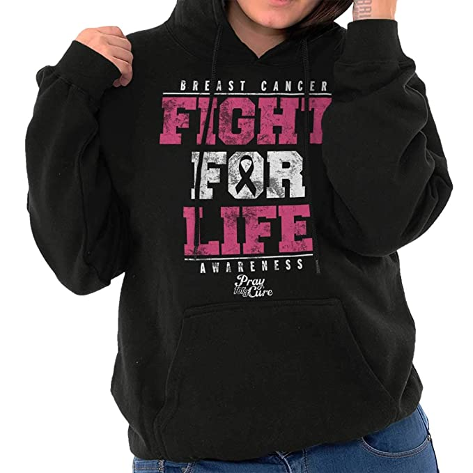 Fight 4 A Cure Unisex Hoodie Breast Cancer Month Sweater