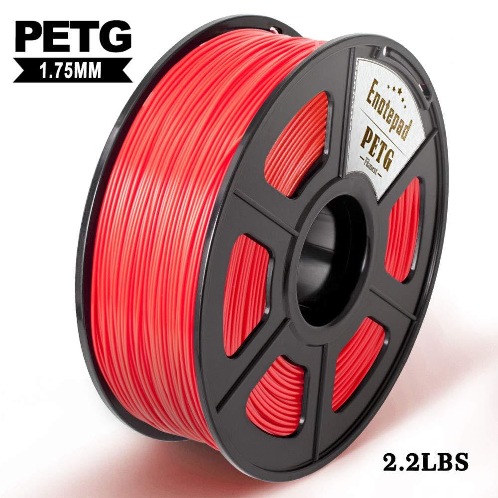 PETG 3D Print Filament, Maßgenauigkeit +/- 0,02 mm, 1 kg/Spool, 1,75 mm, umweltfreundlich Filament geeignet für 3D-Drucker / 3D Print Pen (Blau)
