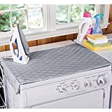 Houseables Ironing Blanket, Magnetic Mat Laundry
