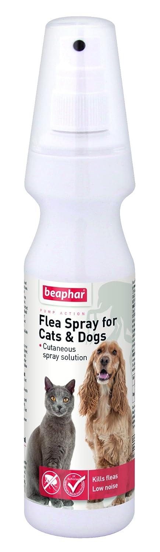 (4 Pack) Beaphar - Flea Spray Cat/Dog 150ml