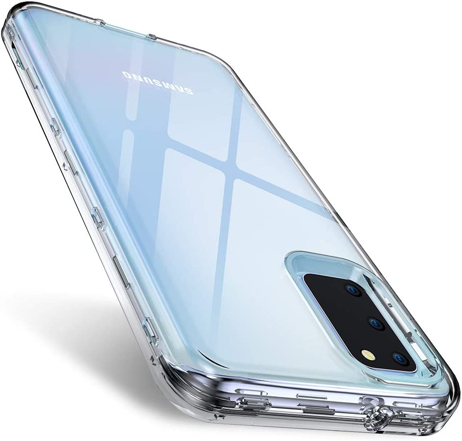 FLOVEME Compatible with Samsung Galaxy S20 Case Clear 6.2 inch 2020 £2.29 w/code HUVFXMTW @ Amazon