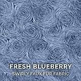 Furhaven Pet Dog Bed - Round Plush Faux Fur Ultra
