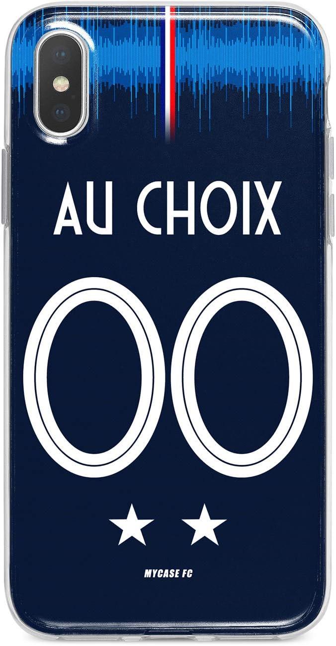 MYCASEFC Coque Football Personnalisable Nantes Xiaomi Redmi Note 9 en Silicone Housse de Foot pour Smartphone personnalis/ée et fabriqu/ée en France en TPU