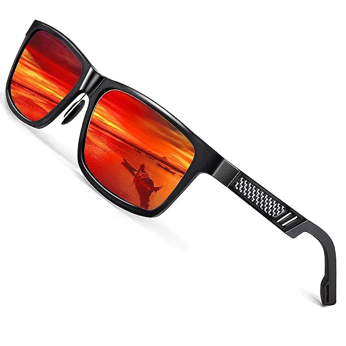 Amazon.com: Gafas de sol polarizadas de Rocknight Mg-Al para ...