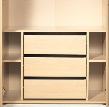 Cassettiera interna per armadio Level1 colore Faggio cm L80 ...