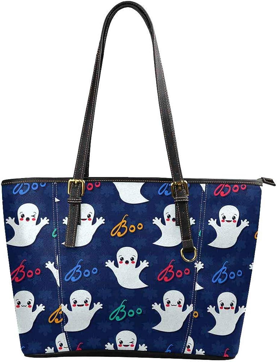 InterestPrint Women Handbags Shoulder Bags Tote PU Leather Handbags