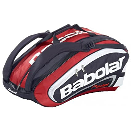 Babolat – Racket Holder Team Padel Bolsa, Color Rojo - Rojo, tamaño 60 x