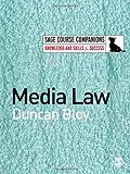 Media Law, Bloy, Duncan, 1412911192