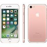 """Apple iPhone 7 Ouro Rosa 32GB com 4,7"""", iOS 10, Processador A10, 4G, Câmera de 12 MP Desbloqueado"""