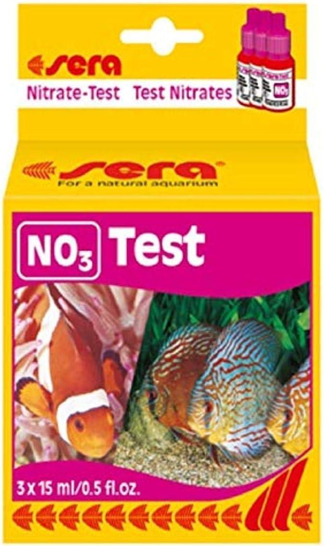 Sera Nitrate Test no3 per Acquario 60 misurazioni