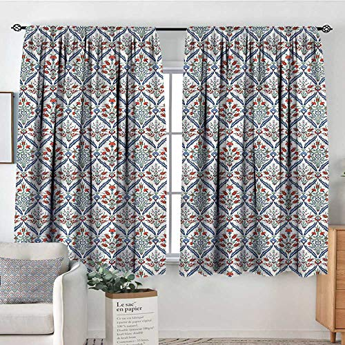 Anzhutwelve Ottoman,Curtains and Drapes Arabic Floral Patterns 42