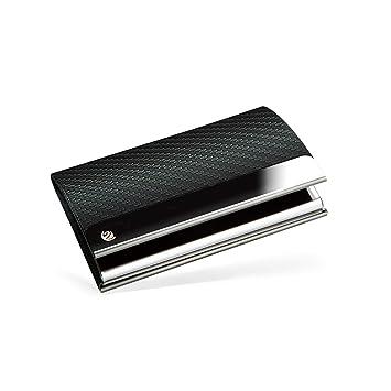 Brodi Premium Visitenkarten Etuis Für Eine Besonders Schonende Aufbewahrung Hochwertige Visitenkartenbox Aus Edelstahl Mit Magnetverschluss