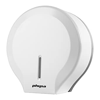 Physa FOGGIA WHITE Dispensador de papel higiénico blanco (de plástico ABS, para rollos extra