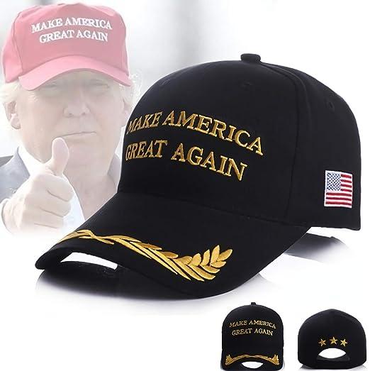 235c139dfac70 Donald Trump Cap MAGA Hat Keep Make America Great Again 3D Baseball Cap  Cotton 2020