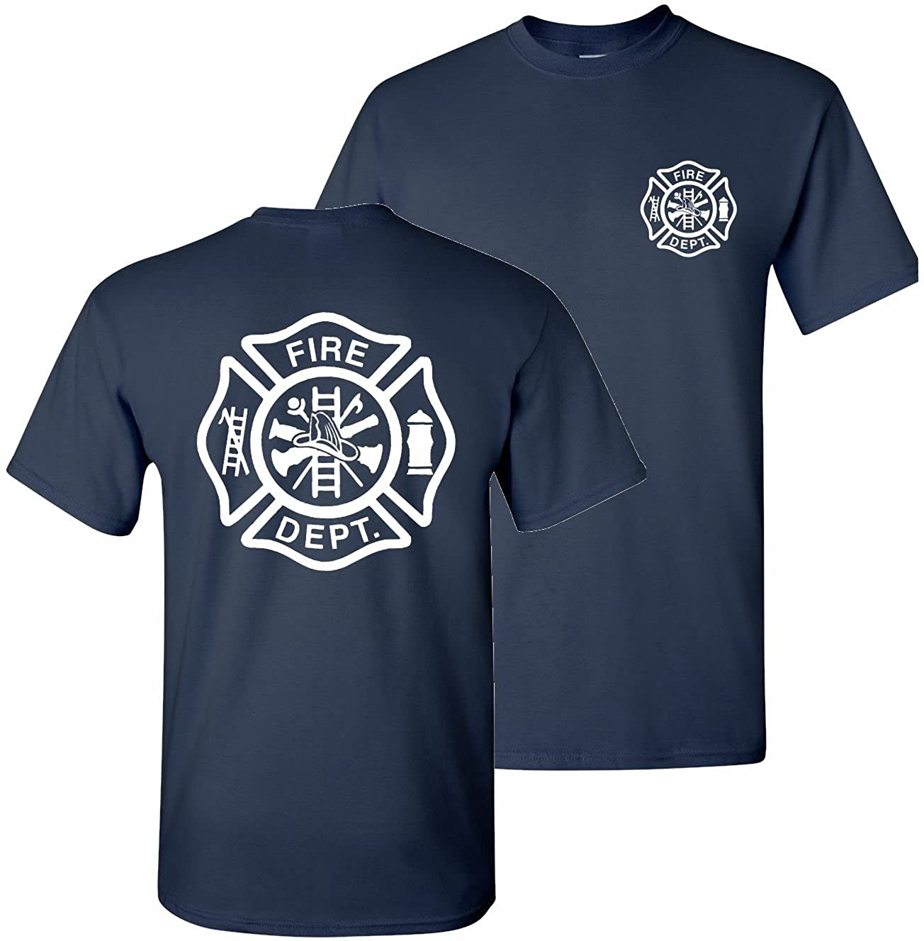 Amazon Patriot Apparel Firefighter T Shirt Maltese Cross Clothing