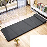 Folding Bed/Single Portable Rollaway Bed/Nap Bed/Office Lunch Mattress/Easy Folding Bed-C
