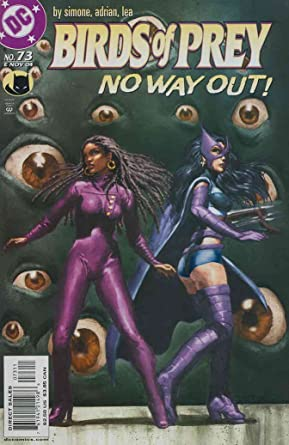 Amazon Com Birds Of Prey 73 Vf Nm Dc Comic Book Entertainment Collectibles