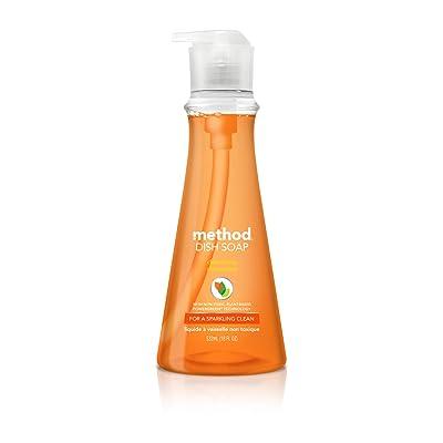 Method Dish Soap, Clementine, 18 Fl Oz