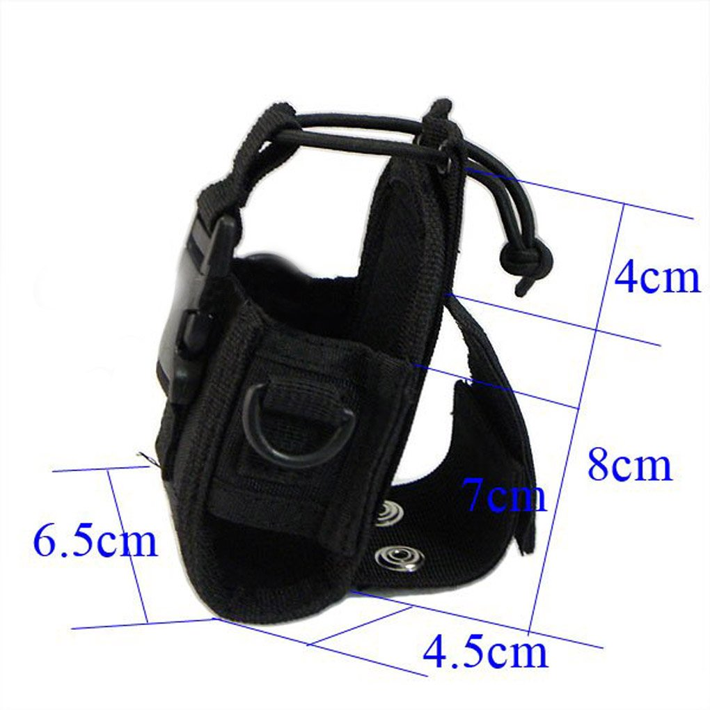 Aiming MSC-20A walkie Talkie Funda para GP328 Wouxun KG-UV8D Radio CB de Baofeng UV-5R UV-5RE Plus UV-B5 UV-82
