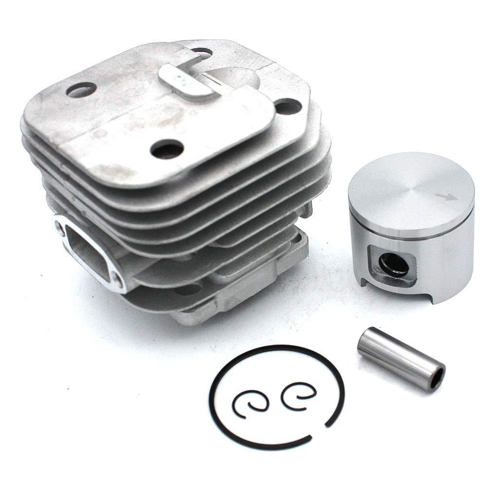 SeekPro 48 mm Kit di Montaggio per Pistoni cilindrici per Motosega Husqvarna 61 Parti a T #503 53 20-71