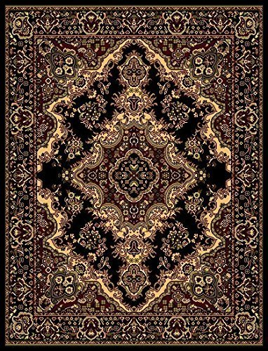 Msrugs 108 Area Rugs Clearance For Living Room Black