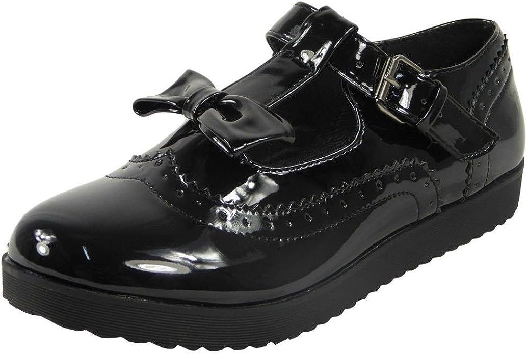 Womens Low Heel Pumps Ladies Kids Flat