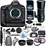 6Ave Canon EOS-1D X Mark II DSLR Camera International version (No Warranty) + Tamron 200-500mm f/5-6.3 SP AF Di LD (IF) Lens for Canon EOS + Battery Grip + Wildlife and Sports Photography Bundle