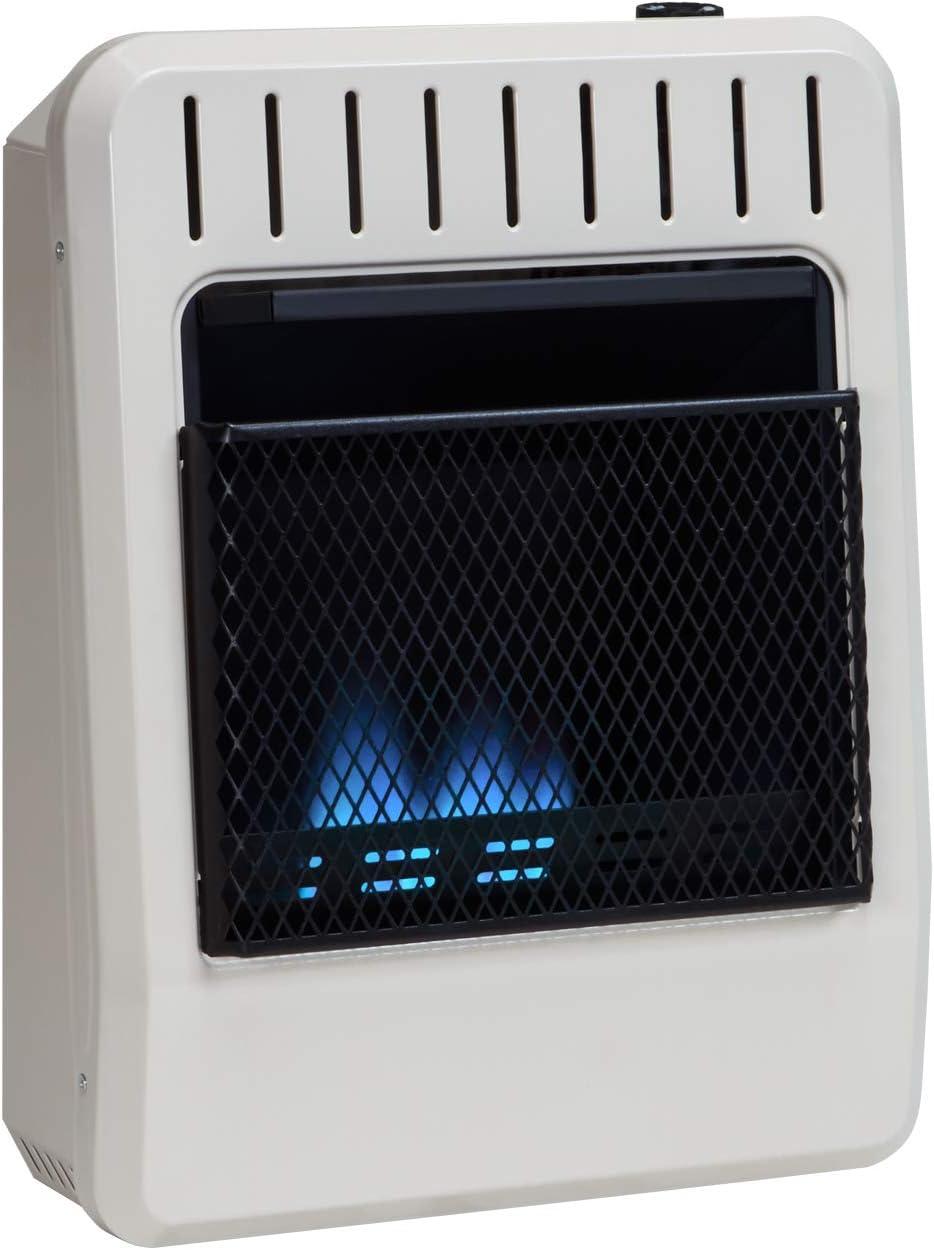 Avenger Dual Fuel Ventless Blue Flame Heater – 10,000 BTU, Model FDT10BFA