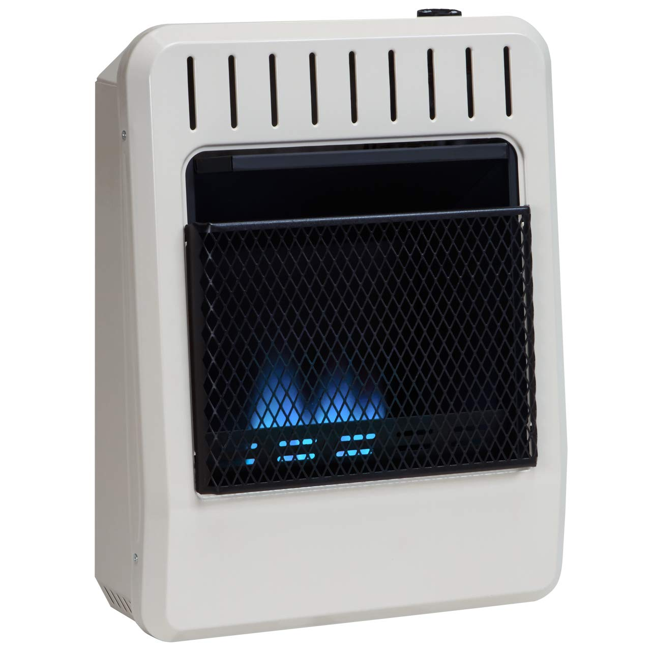 Avenger Dual Fuel Ventless Blue Flame Heater - 10,000 BTU, Model# FDT10BFA by Avenger