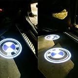 BMW 高品質 カーテシ LED レーザーロゴライト アンダースポット / ドアレーザーライト / カーテシライト 配線不要 / 純正交換タイプ BMW