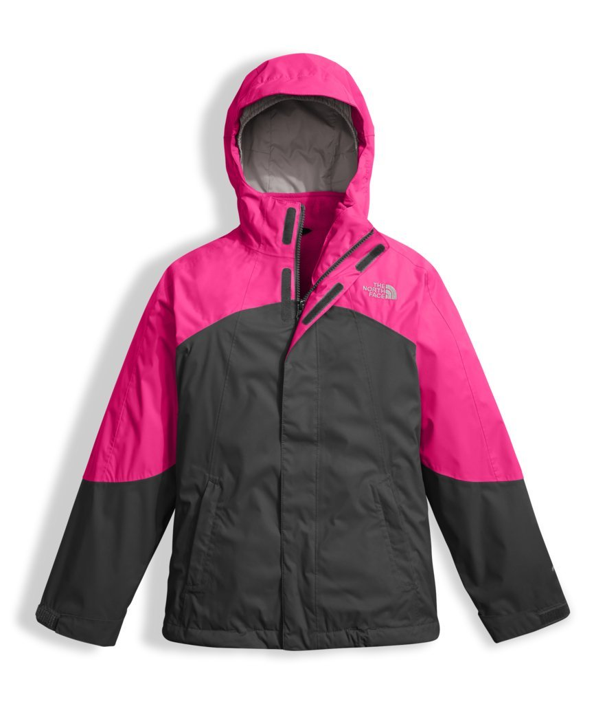 The North Face Girl's Mountain View Triclimate Jacket - Petticoat Pink - S (Past Season) by The North Face