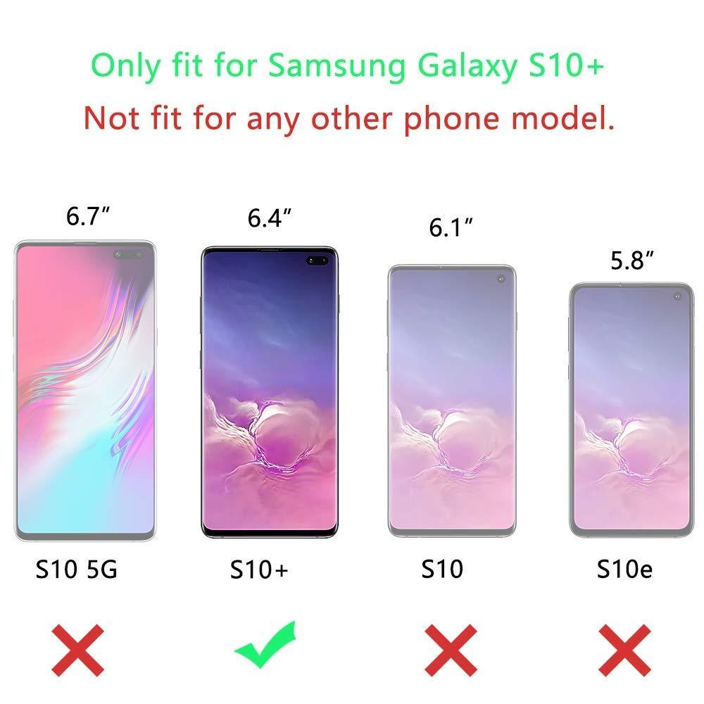 QDADZD 3 St/ück Panzerglas Schutzfolie f/ür Samsung Galaxy S10, 9H H/ärte, HD Anti-/Öl,Kratzer, Fingerabdrucksensor Kompatible, Einfaches Anbringen, Displayschutzfolie f/ür Samsung Galaxy S10 2019