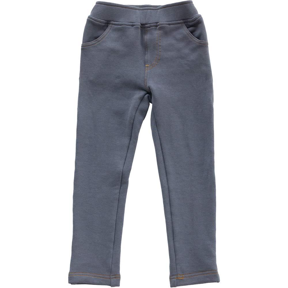 NOONOOJOOJOO Girls Elastic Strenchy Elastic High Waist Pull-on Pants Capris Jegging