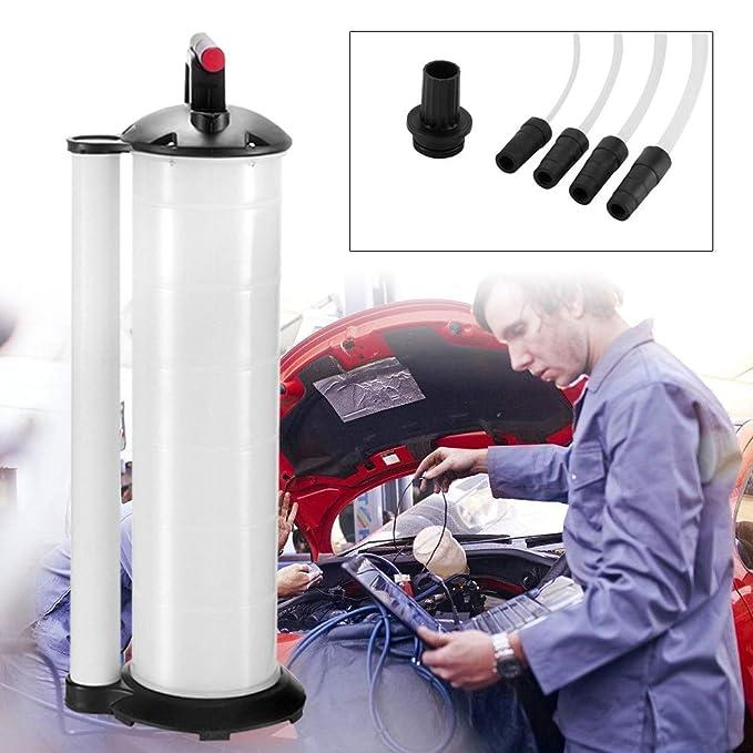 Bomba manual de succión para aspiradora, extractor de aceite y aceite de 7 L/9 L, bomba de transferencia de bomba de extracción de agua del motor del ...
