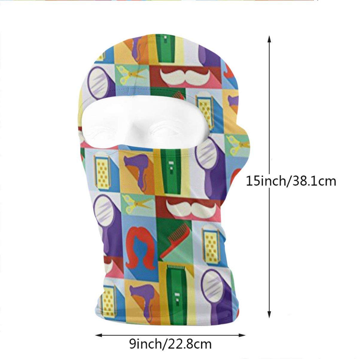 Wind-Resistant Face Mask LaoJi Man and Woman Winter Ski Mask Balaclava Hood