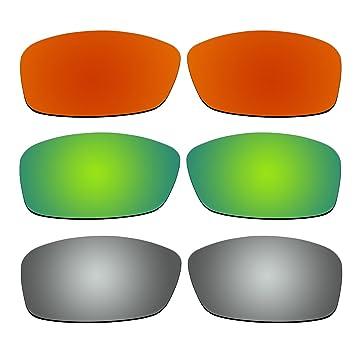 3 pares lentes polarizadas de recambio para Oakley Hijinx – Gafas de sol Pack P4