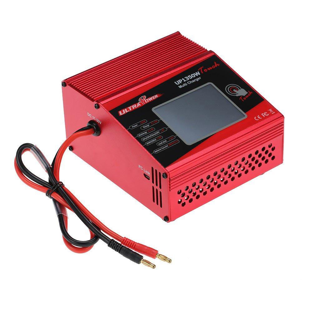 Goolsky ULTRA POWER UP1350W Touch 1350W de alta potencia 1-8S LiIo / LiPo / LiFe / LiHV / NiCd / NiMH Cargador de balanza de batería Cargador