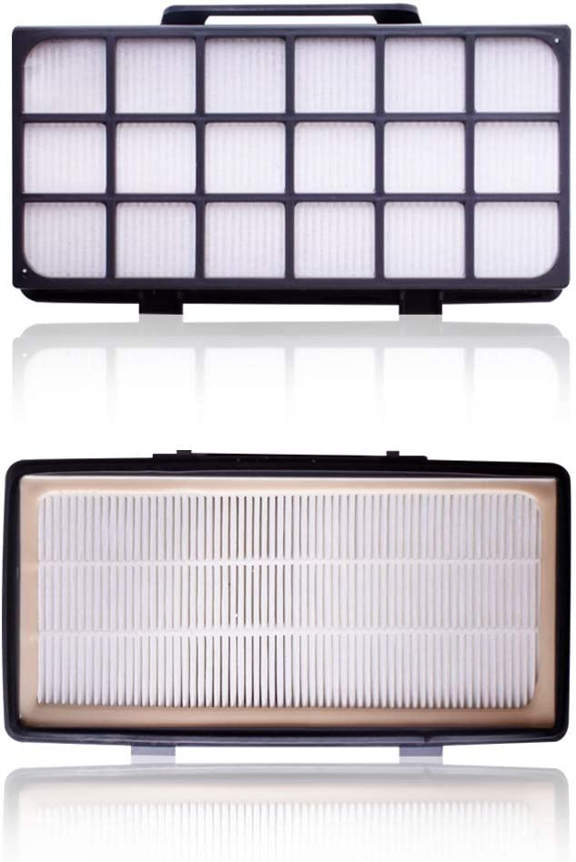 (Kit 2pcs Filtre Remplacement pour Aspirateurs Rowenta Compatible avec X-Tremp Power Cyclonique ZR006001 RO69xx