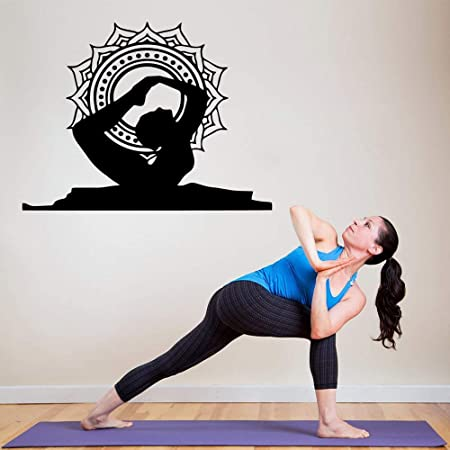 wukongsun Nuevo Yoga Wall Sticker Wall Art Wallpaper para ...