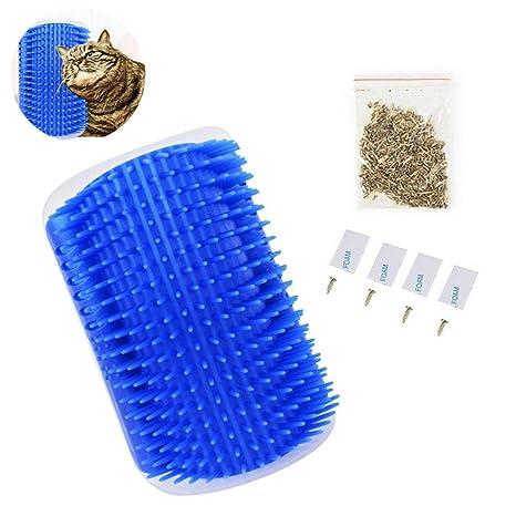 Pawaca Cepillo de masaje para gatos y gatos (incluye bolsa para ...