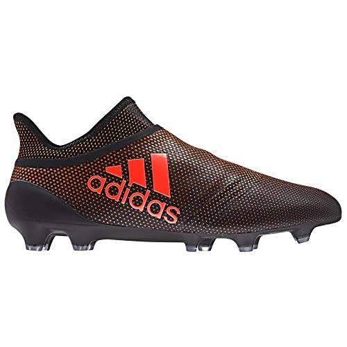ef5c4777e adidas X 17+ Purespeed FG Cleat Men's Soccer 8.5 Core Black-Solar Red-Solar  Orange: Amazon.co.uk: Shoes & Bags