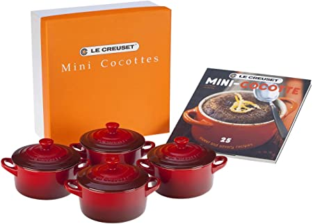 LE CREUSET Set de Mini cocottes, Redondas, Cerámica de gres