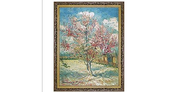 Amazon Com Melocotón árbol En Flor Por Vincent Van Gogh