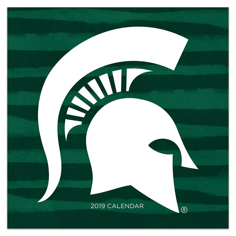 Msu Calendar 2019 2019 Michigan State University Wall Calendar: TF Publishing