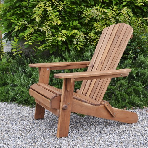 Plant Theatre Adirondack Folding Hardwood Chair