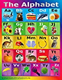 School Smarts ABC Alphabet Poster Fully Laminated ,Durable Material, Rolled and SEALED in Plastic Poster Sleeve for Protection. Discounts are in the special offers section of the page.