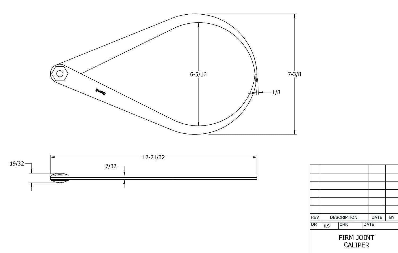 diagram of inside caliper
